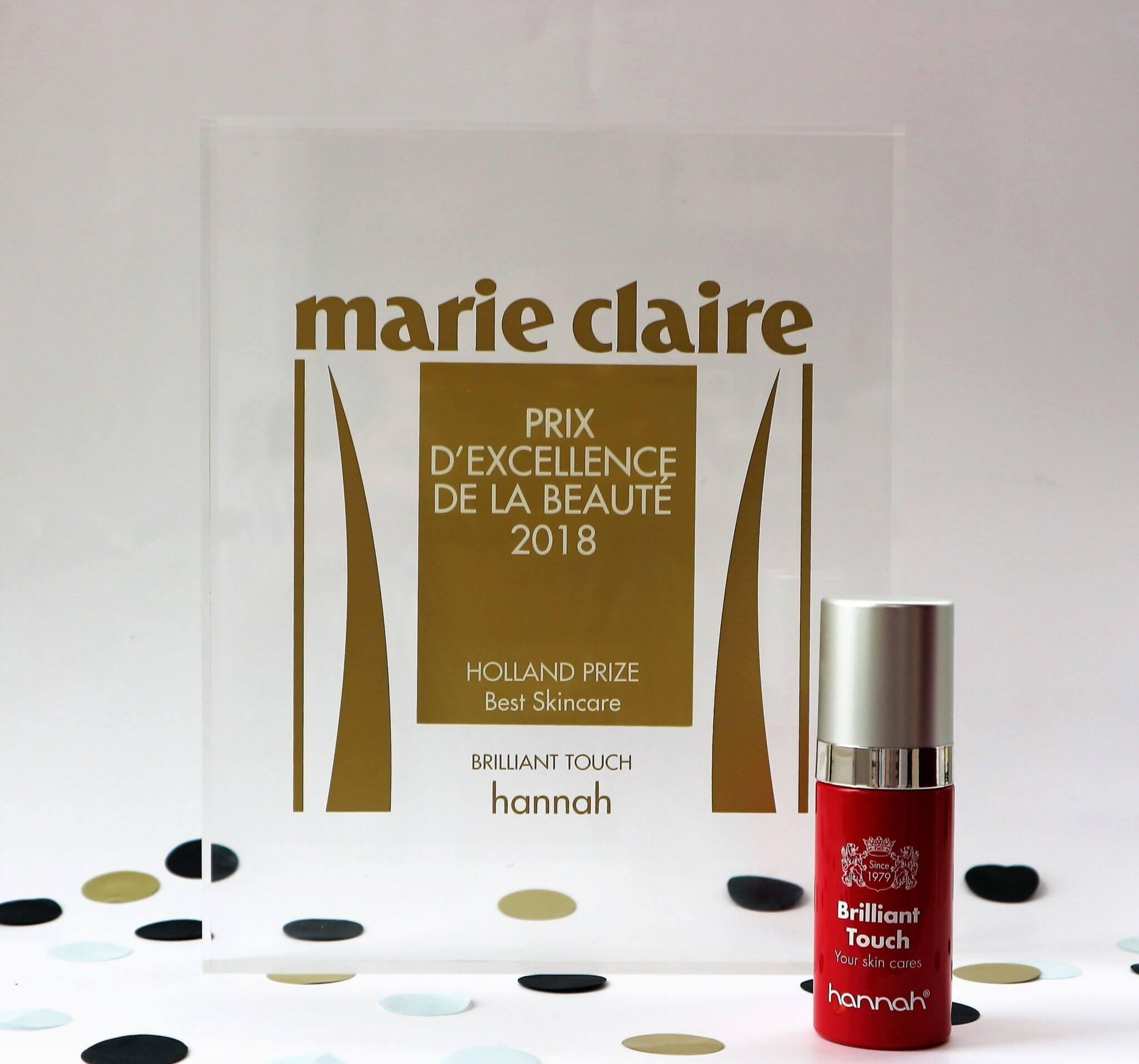 Marie Claire de Prix d'Excellence de la Beauté