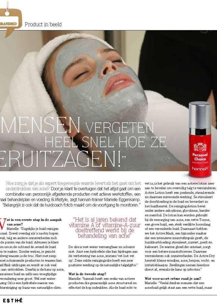 Expert Mariëlle over acne