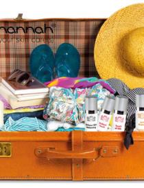 Handige travel sizes  van je favoriete hannah producten