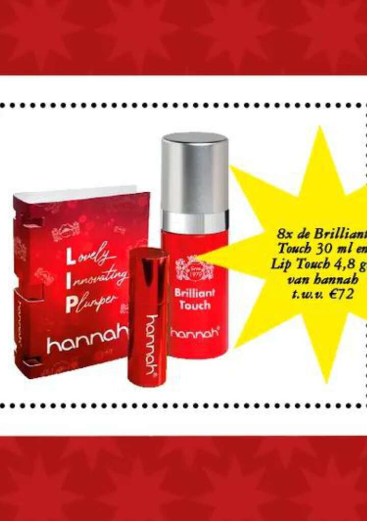 Grazia's adventskalender: 8x de Brilliant Touch en Lip Touch