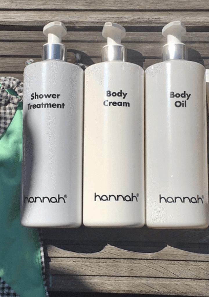 Zelfverzekerd en snel bikiniproof met de hannah bodyproducten