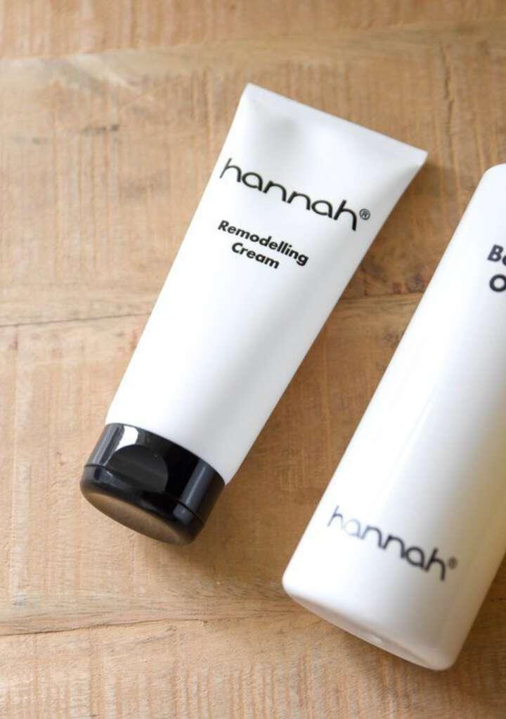 hannah Remodelling Cream & Body Oil