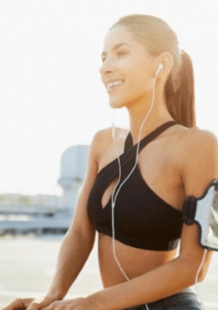 Sporten met een gezonde huid